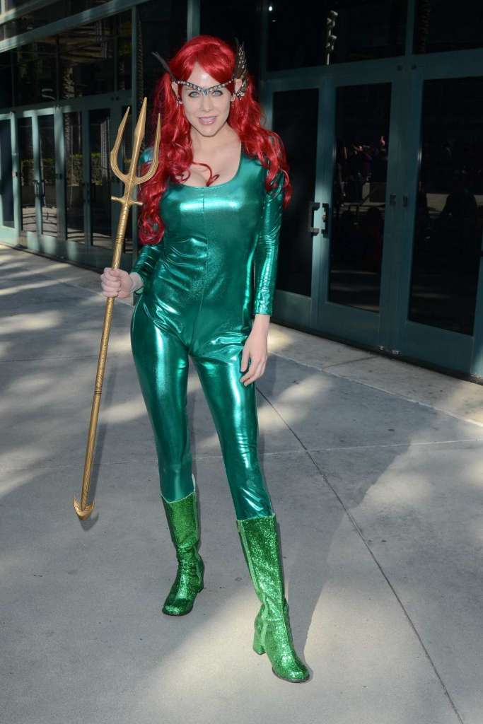 Maitland Ward as Mera from Aquaman