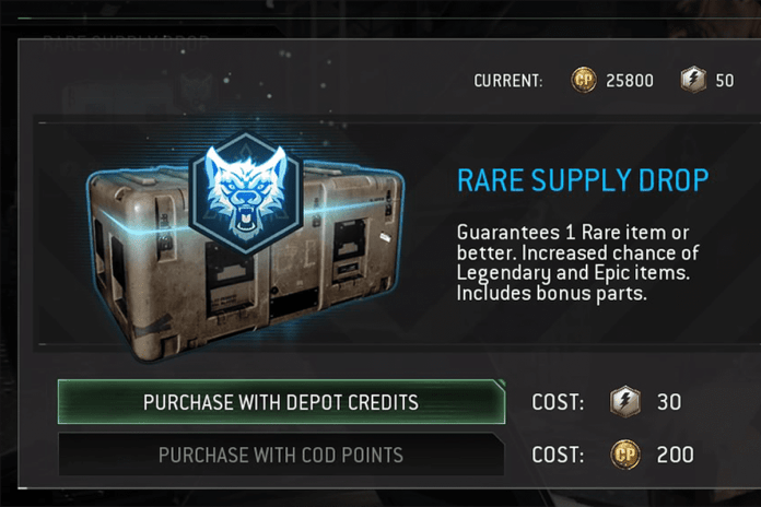microtransactions in CoD
