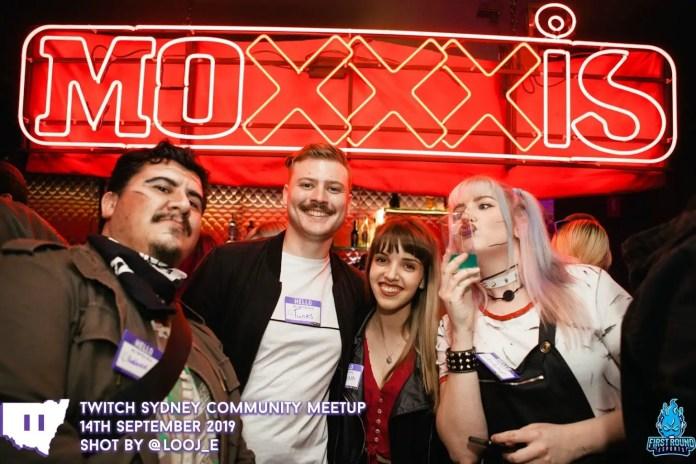Twitch meetup in Sydney