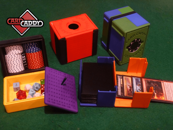 The Card Caddy Kickstarter products
