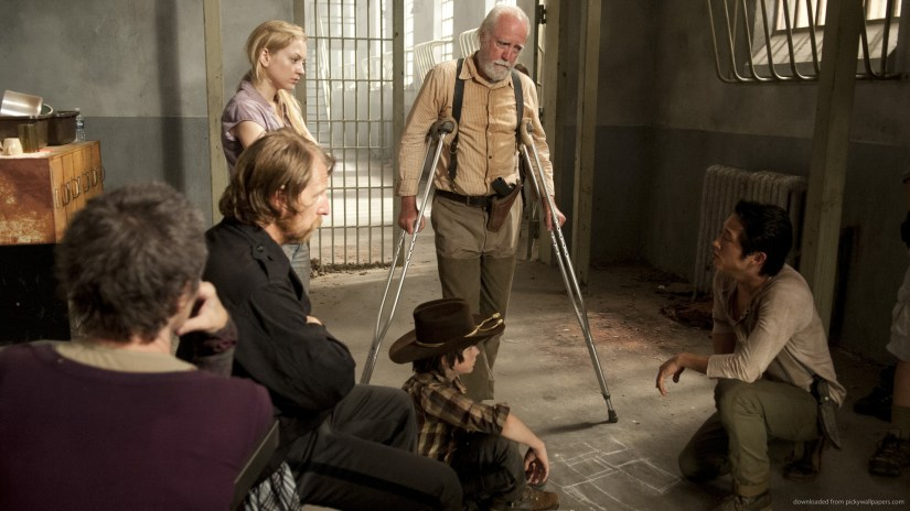 Characters from the Walking Dead TV series