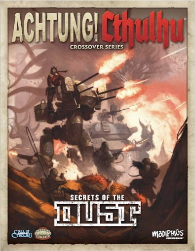 Cover for Acthung Cthulhu: Secrets of Dust