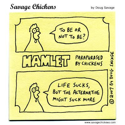 Savage Chickens - Hamlet