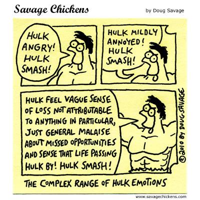 Hulk - Savage Chickens