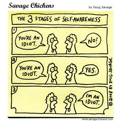 Savage Chickens - Self-Awareness