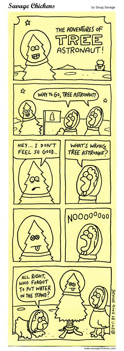Tree Astronaut