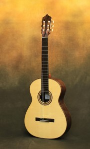 Ashley Sanders June 2012 Spruce Classical Guitar