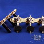 Alessi Tuning Machines - Oval Ebony F2