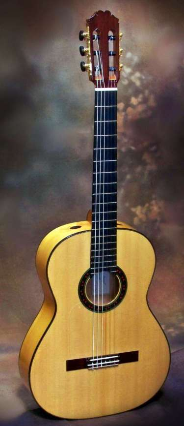 Flamenco Guitar by Gil Carnal