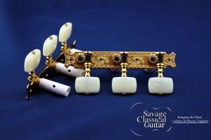 Gotoh 35G620 with Square Ivory Buttons - EI