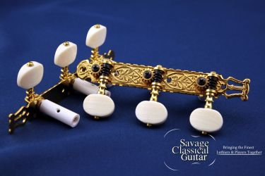 Gotoh 40G2000 39mm Spacing Ivory Oval Buttons 2M