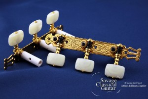 Gotoh 40G2000 39mm Spacing Square Ivory Buttons EI