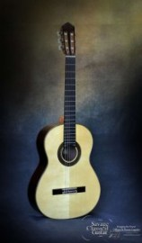 Classical Guitar by Kenny Hill Player 650 Spruce