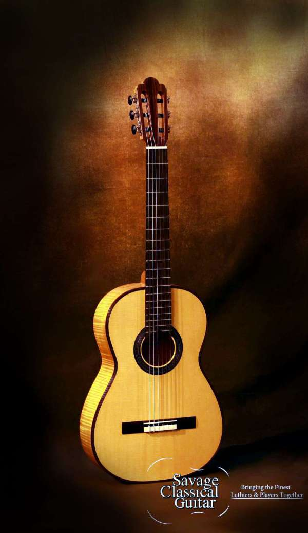 Kenny Hill Torres Classical Guitar F5