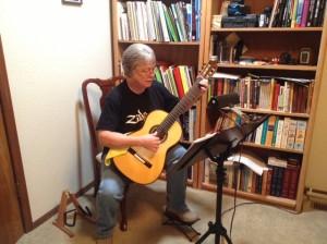Martha Kenny Hill F5 Classical Guitar