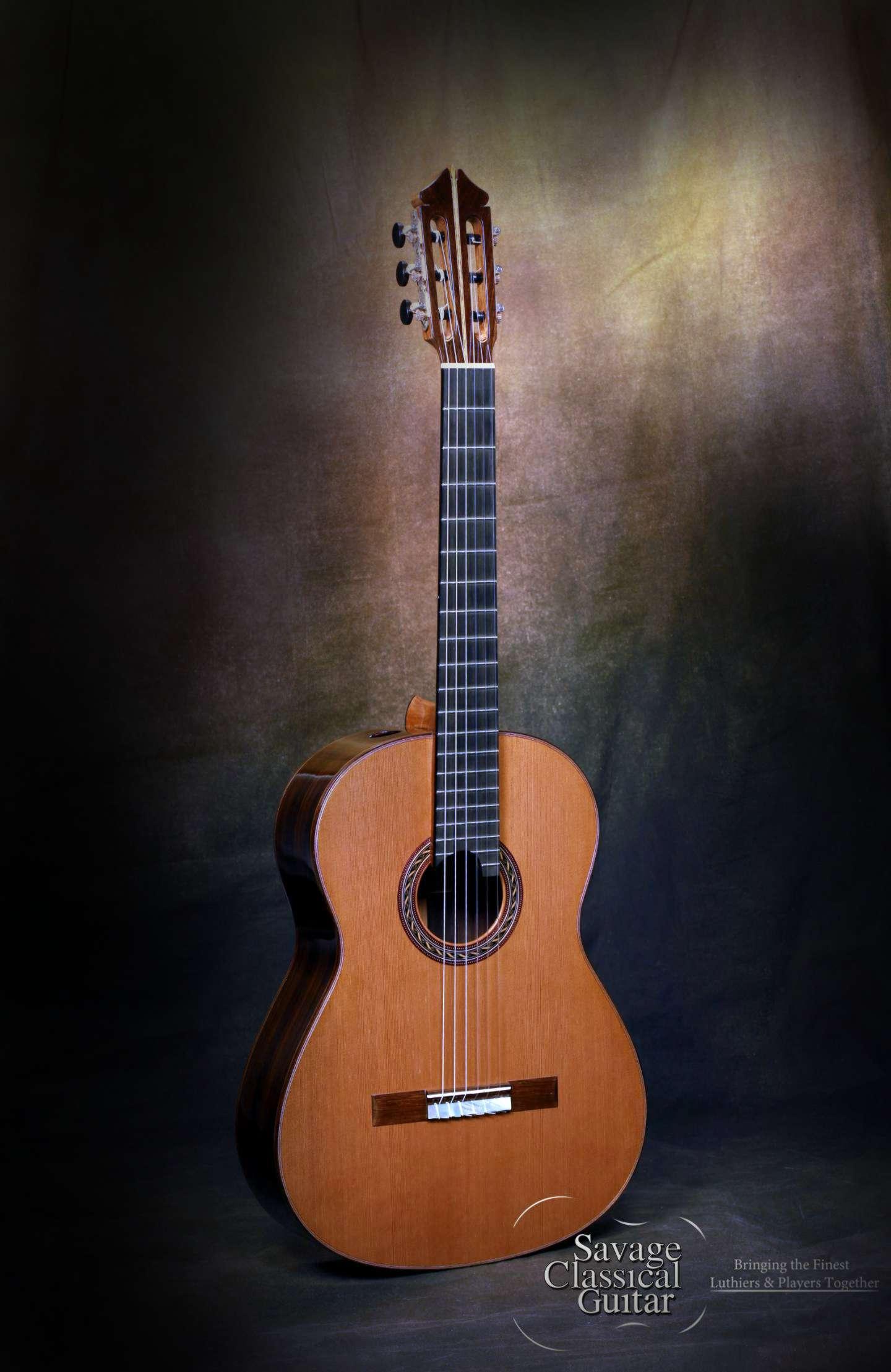 Kenny Hill Signature Classical Guitar 3803 Cedar Savage