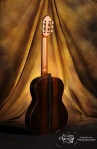 Bob Desmond Classical Guitar 2012 Bearclaw Spruce Brazilian RW