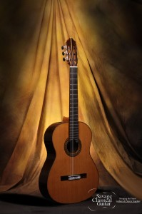 Kenny Hill Classical Guitar #3854 Signature 640mm Cedar