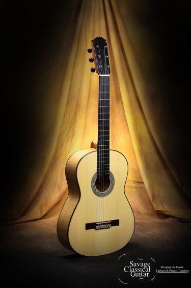 Darren Hippner Flamenco Guitar #679 Barbero Model