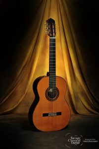 Robert Ruck Classical Guitar #793 Cedar 2002