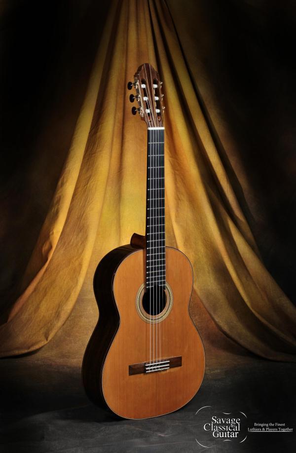 David Pace Classical Guitar 2013/5 - Cedar w/EIRW