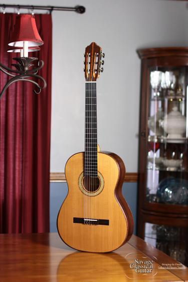 2015 Fritz Mueller Classical Guitar #299 Cedar Wenge
