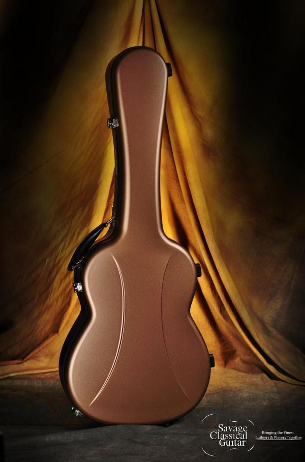 Visesnut Cases for Classical Guitar Bronze