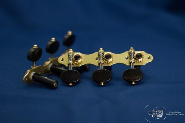 Alessi Tuning Machines - Oval Ebony F1