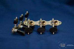 Alessi Tuning Machines - Hauser 6 Oval Ebony