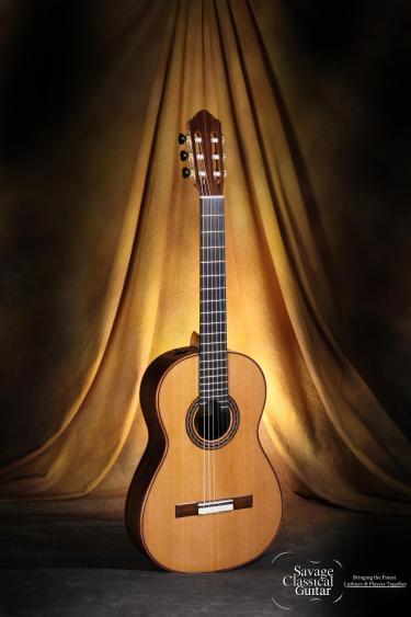 Kenny Hill Performance Classical Guitar #3955 Cedar 630mm Small Sized Body