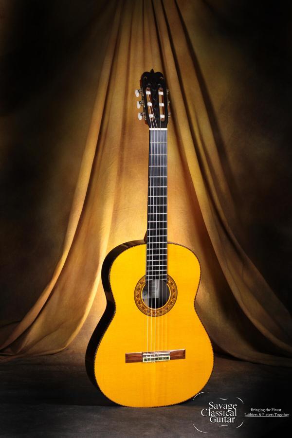 Pedro Maldonado Classical Guitar 1A 2004 Spruce EIRW #01689