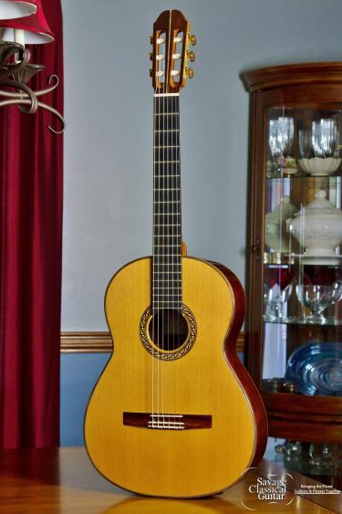 Sergei de Jonge Classical Guitar 1998 Cedar CSA RW