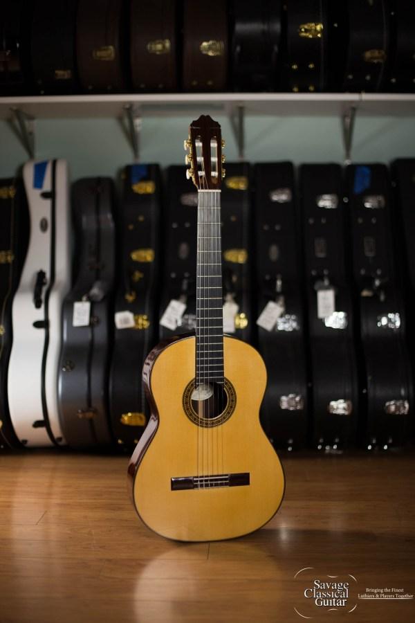 Manuel Adalid Custom Negra Flamenco Guitar #001 Spruce w/Cocobolo