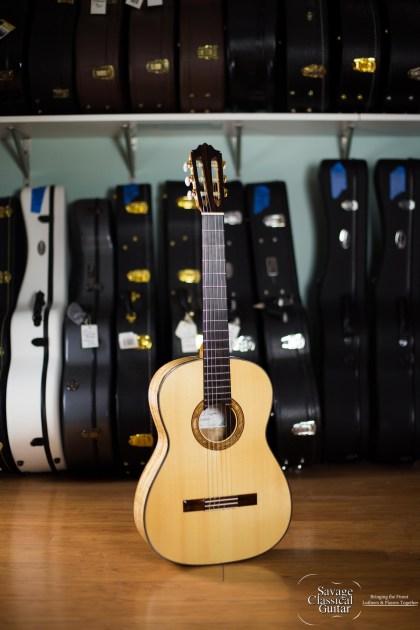 Darren Hippner Classical Guitar #569 - Spruce Spalted Maple