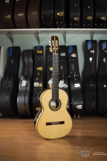 Steve Connor Classical Guitar 2015 Spruce Ziricote #307