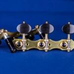 Alessi Tuning Machines - Hauser 1 Oval Ebony