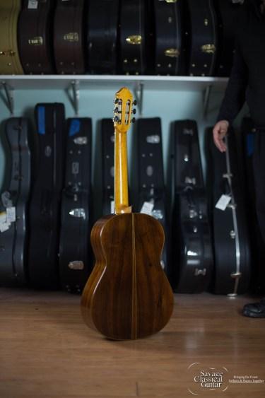 Kenny Hill Signature Classical Guitar #2878 Spruce CSA 640
