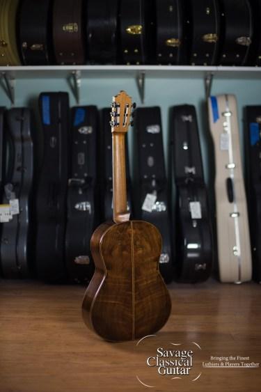 Steve Porter Classical Guitar #14 2008 Spruce CSA RW - Small Scale