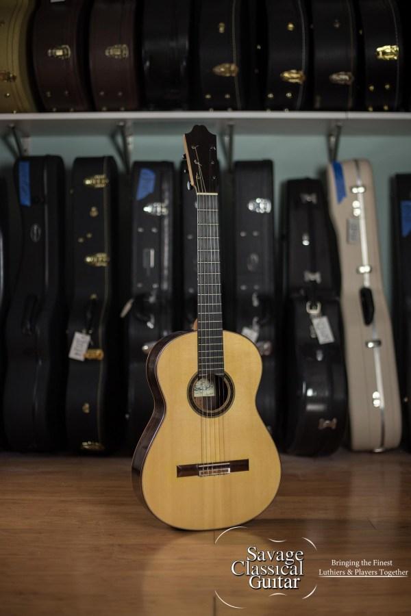2012 Raya Pardo Negra - Spruce/EIRW Classical Flamenco Guitar
