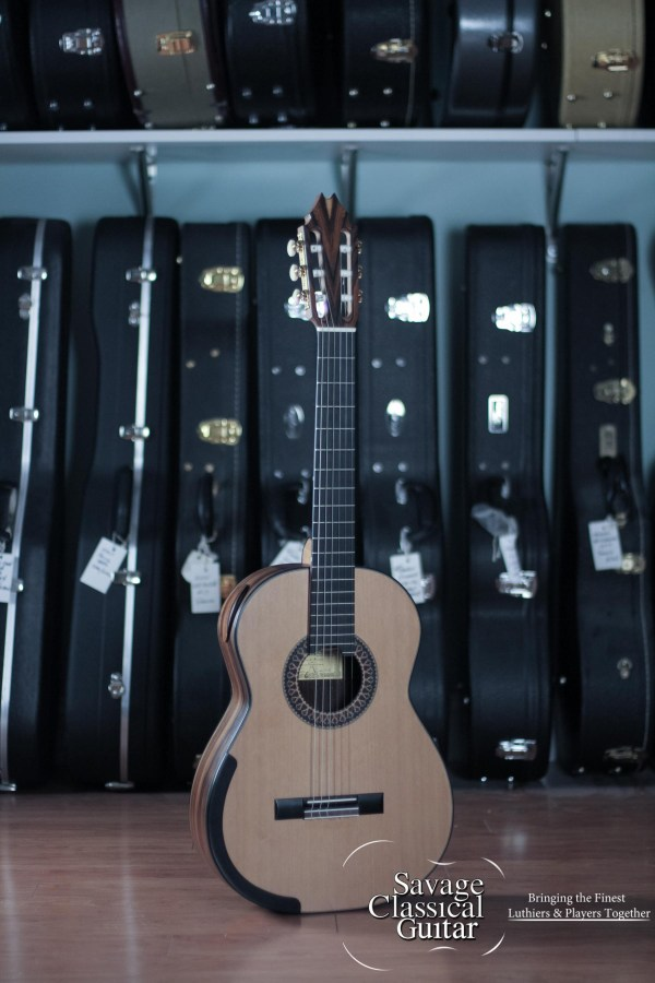 Fernando Mazza Classical Guitar 2016 Cedar CSA Millenium Lattice