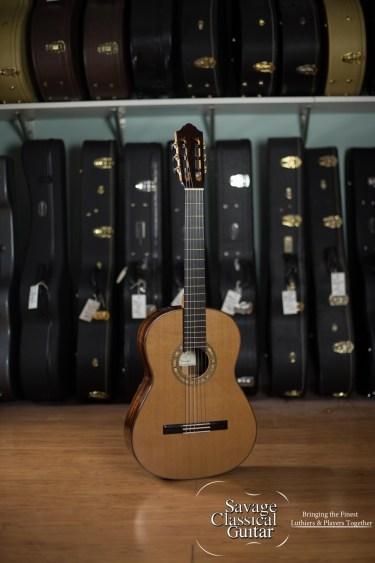 Kolya Panhuyzen Classical Guitar 2012 Cedar CSA