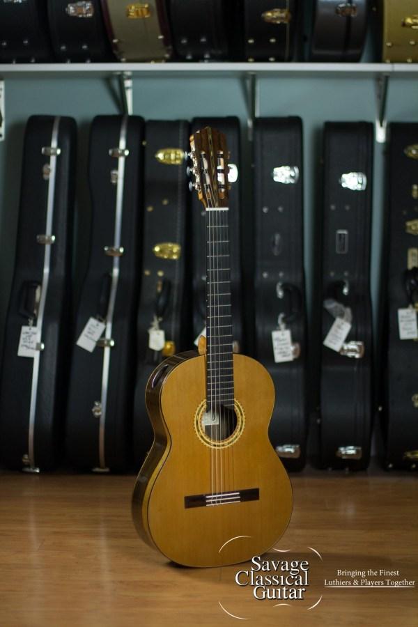 Marcus Dominelli Classical Guitar #95 2012 Cedar Ziricote