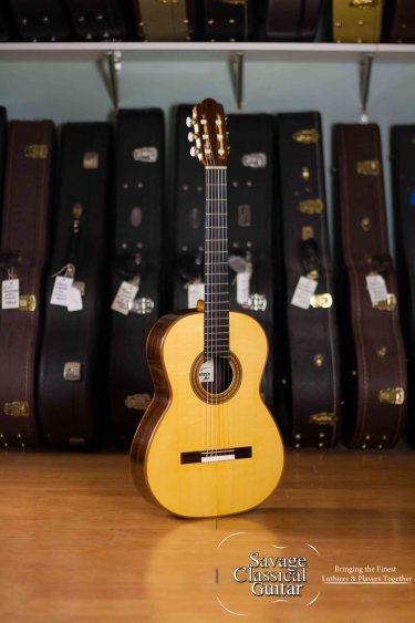 "Kevin Aram ""Greta"" Classical Guitar 1998 Spruce CSA"