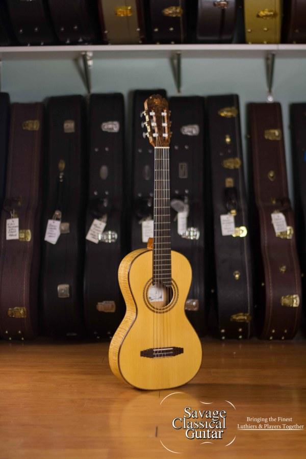Matt Rubendall Classical Guitar 2015 Modern Romantic Spruce Maple PreOwned