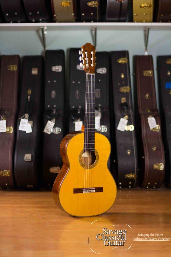 Richard Bruné Classical Guitar #638 SpruceCSA RW