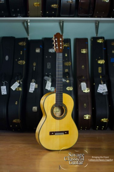 2015 Paulino Bernabe Torres Concert Spruce Maple 645mm