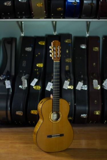 Jeremy Clark Classical Guitar 2012 Cedar Maple