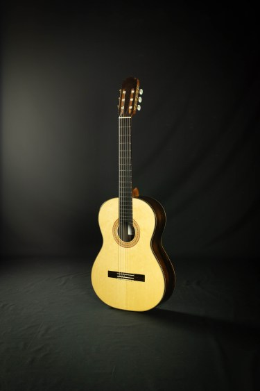 2018 Darren Hippner #940 Hex Rad Spruce CSA Savage Classical Guitar