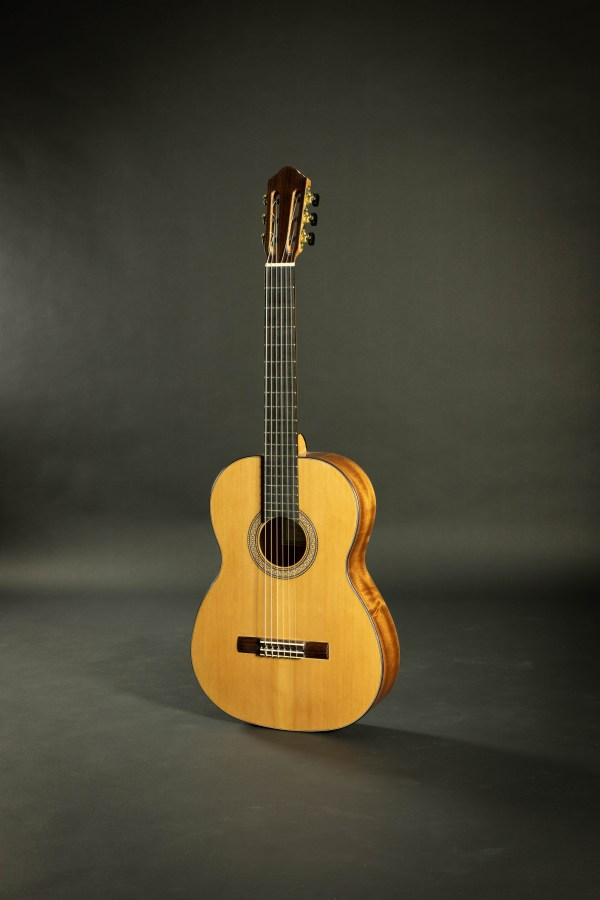 2018 Eduardo Bossa Recital 0418004X Cedar Sapele Lattice