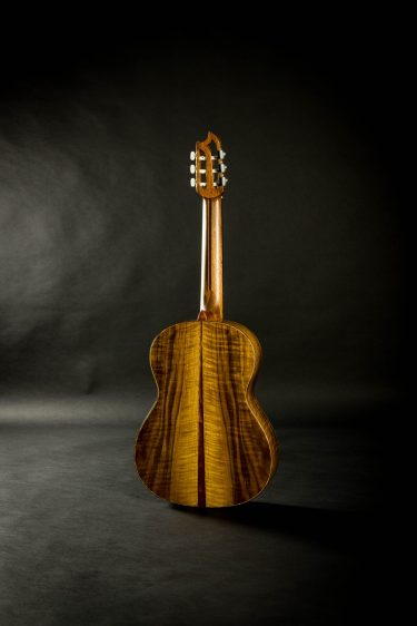 2015 Max Cuker Spruce Curly Walnut
